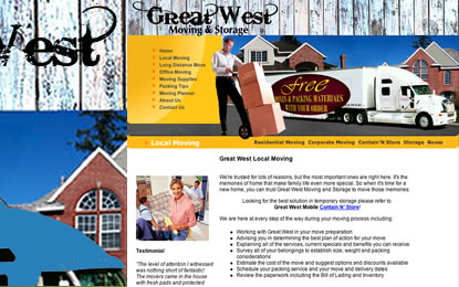 Michigan website design for small business